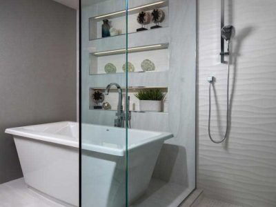 Luxury Bathroom Remodel by Naples Kitchen and Bath - Pelican Bay Blvd.