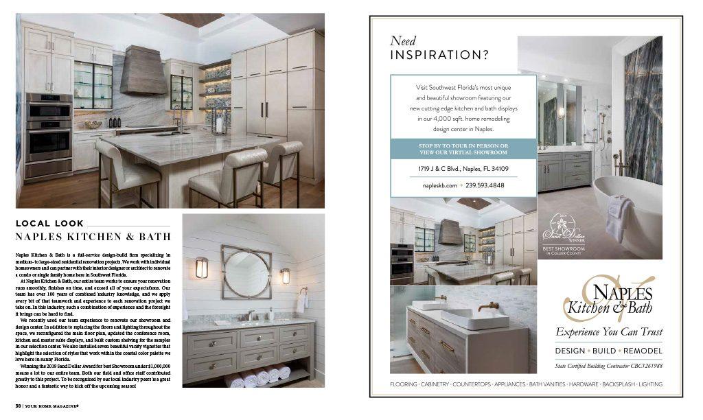 Your Home - Local Look Naples Kitchen & Bath Ad | Naples Kitchen & Bath