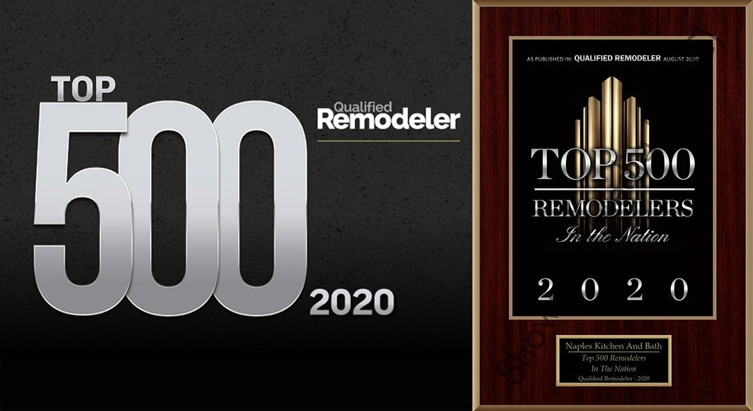 Naples Kitchen & Bath named Top 500 Remodelers in the Nation by Qualified Remodeler 2020 - Kitchen and Bath Remodeling